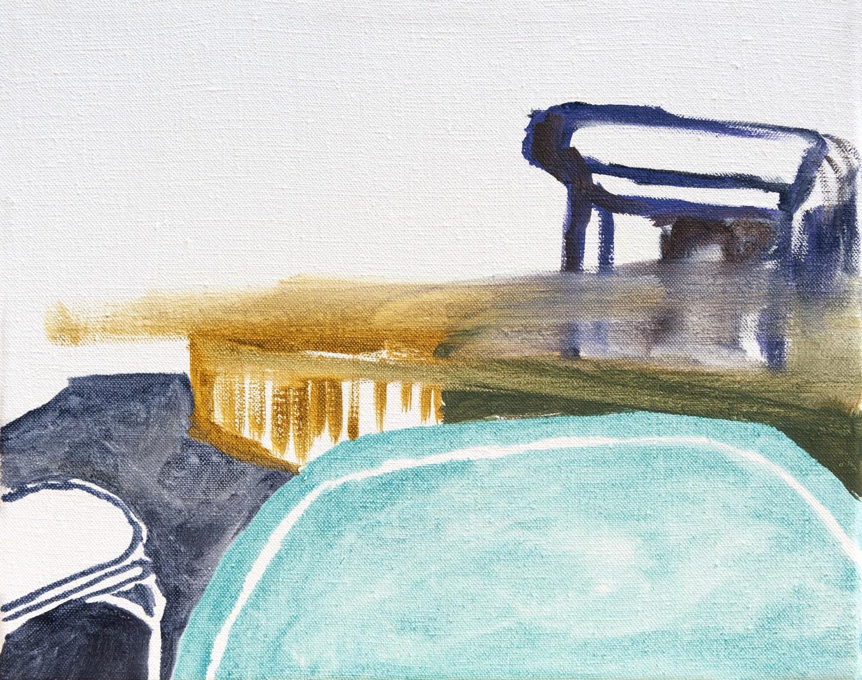 Nancy de Graaf - De tafel, het podium, de stoelen